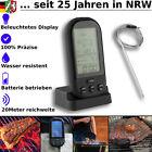 Die besten Grill-Thermometer - BBQ Grill Smoker Digital Funk Thermometer Grillthermometer Fleischthermometer Bewertungen
