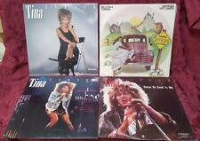 Tina Turner Vinyl x4, Private Dancer, Nutbush City Limits, Private Dance Mixes