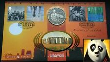 1997 GIBRALTAR 1 Crown Julius Caesar Signed by Michael Wood Coin Cover FDC