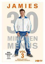 JAMIE OLIVER - JAMIES 30 MINUTEN MENÜS VOL.3 2 DVD NEU