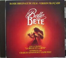 "CHARLES AZNAVOUR & LIANE FOLY - CD ORIGINAL V.F. ""LA BELLE ET LA BÊTE"" - DISNEY"