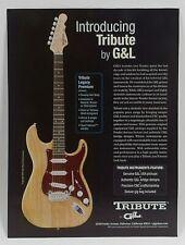 G&L Tribute Legacy Premium Advertising Page (Nov. 2003 Guitar Player)