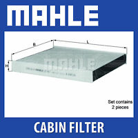 MAHLE Carbon Activated Pollen Air Filter (Cabin Filter) - LAK467/S (LAK 467/S)