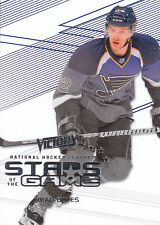 10/11 UPPER DECK VICTORY STARS OF THE GAME BRAD BOYES BLUES *10037