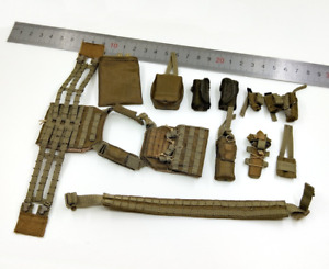 1/6 Scale Soldiers 31st Marine Expeditionary Unit VBSS Vest+Packages Model