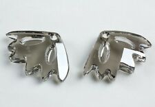 1 Swarovski Crystal Satin 30x45MM ZINNIA Designer Rhinestone Pendant #6901