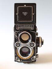 Rolleiflex 3.5F Planar TLR Film Camera with Meter, Strap & Case Worldwide Ship