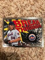 Noah Syndergaard Mets 2017 Topps Finest Breakthroughs Insert