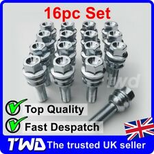16x WHEEL BOLTS FOR VW TOUAREG (OE STYLE) QUALITY ALLOY LUG NUT STUD SET [B40]