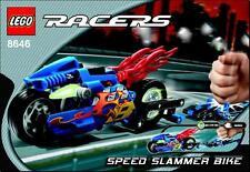 LEGO 8646 - POWER RACERS - Speed Slammer Bike - 2005 - NO BOX