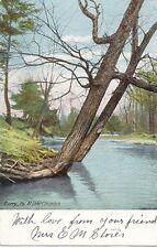 Vintage Postcard Lake Columbus Corry Pennsylvania PA