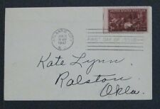 Scott 949 FDC The Doctor 1947 First Day of Issue one 3 cent stamp cover