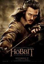POSTER LO HOBBIT IL SIGNORE DEGLI ANELLI LORD OF THE RINGS BARD LUKE EVANS #31