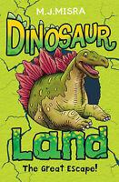 (Good)-Dinosaur Land: The Great Escape! (Paperback)-Linda Chapman,M. J. Misra-14