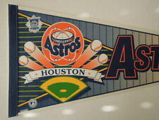 Vintage Houston Astros Astrodome Baseball Full Size Pennant