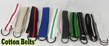 Cinturones de mujer de lona