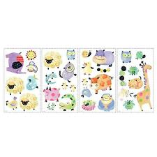Children's Animals Pictorial Wall Wall Decals