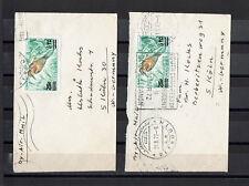 """tolle echtgelaufene Kleinbriefe """" Libanon - Deutschland """" Beyrouth 1972"""