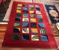 Beautiful Gabbeh rug 249 X 184, Wool Floor Rug  Handmade from Persian Region