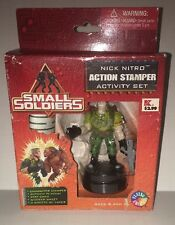 Small Soldiers - Rare Nick Nitro Action Stamper Activity Set