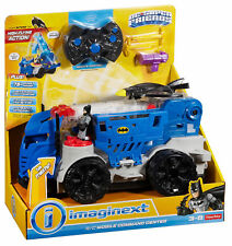 Imaginext DC Superfriends Batman R/C Mobile Command Center DTM79 NEW
