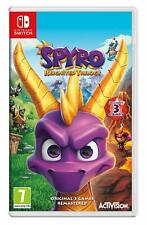 Spyro Reignited Trilogy (Nintendo Switch) Brand New / Region Free New