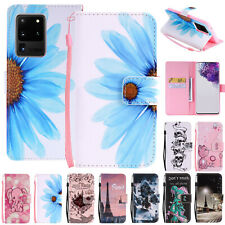 For Samsung Galaxy S20 Ultra/ S20 Plus/ S20 Wallet Leather Flip Strap Case Cover