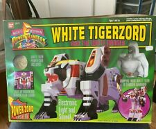 1994 Mighty Morphin Power Rangers White Tigerzord - New In Box / Great Condition