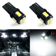 JDM ASTAR 2x T10 White 5630 SMD 194 168 W5W 12V LED Car Interior Map Light Bulbs