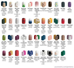 Jamberry Nail Gel Strips - Free Shipping - You Choose Design! - UPDATED 8/23