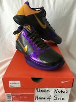 **SALE** Nike Zoom Kobe V 'Lakers Away', Size 11, DS