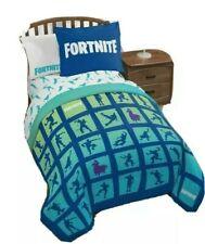 Fortnite Gaming Boys Full Comforter, Sheet Set, & Bonus Sham (6 Pc Bed In Bag)