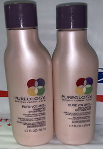 Pureology Pure Volume Shampoo & and Conditioner Duo Set 1.7oz Fine Color-Treated