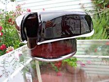 CHRIBSKA BOHEMIAN CZECH 1414 ART GLASS VASE BOWL CENTERPIECE PLUM