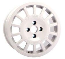 Revolution Rally 6.0x15 GR14 Alloy Wheel ET15 White For Peugeot 106/205