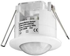 PIR motion sensor ceiling mounting 360° detection 6m range indoor use IP20LEDs