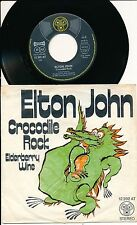 "ELTON JOHN 45 TOURS 7"" GERMANY CROCODILE ROCK"