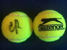 TENNIS: EVGENIYA RODINA SIGNED SLAZENGER TENNIS BALL+COA *WIMBLEDON*