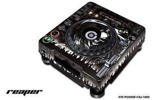 Skin Decal Sticker Wrap for Pioneer CDJ 1000 Turntable DJ Mixer Pro Audio REAPER