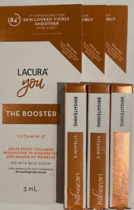 Lacura You - The Booster -  Vitamin C x 3 each 3ml brand new in packaging