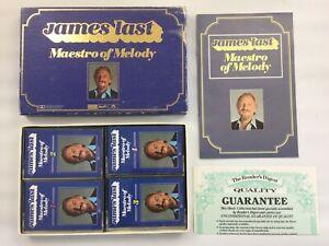 James Last - Maestro of Melody, 4 cassette tape box set, Readers Digest, Vintage