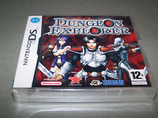 DUNGEON EXPLORER  - Nintendo DS - UK PAL - NEW FACTORY SEALED RPG - EXC COND