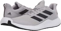 Adidas Men's Shoes edge gameday Fabric Low Top Lace Up Running, Grey, Size 7.0 8