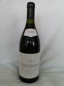 1 Fl 0,75l 1989 Rioja Reserva Conde de Valdemar  Martines Bujanda  Spanien