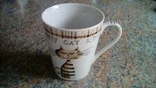 MUG .NOVELTY CAT .BY JUST MUGS .FINE CHINA.