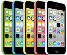 Apple iPhone 5C 8GB 16GB 32GB Unlocked, AT&T- White, Blue, Green, Pink & Yellow