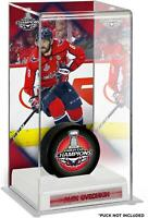 Alex Ovechkin Washington Capitals 2018 Stanley Cup Champs Dlx Tall Puck Case