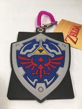 Legend of Zelda Link Hylian Shield Bus Train Pass ID Holder Keychain USA SELLER