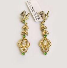Orecchini Gerardo Sacco ARBËRESHË in Oro Perle e Smeraldi