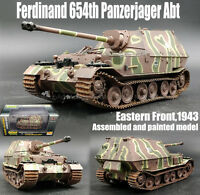 Easy model WWII German Ferdinand tank destroyer 654 abt 1/72 tank no diecast